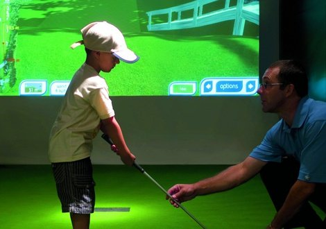 Simulateur de golf As Cascatas Golf Resort & Spa Vilamoura Vilamoura