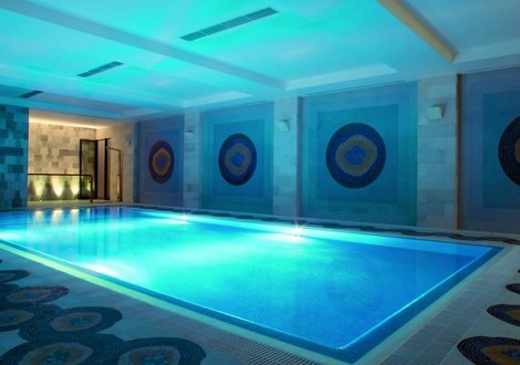Hallenschwimmbad As Cascatas Golf Resort & Spa Vilamoura Vilamoura